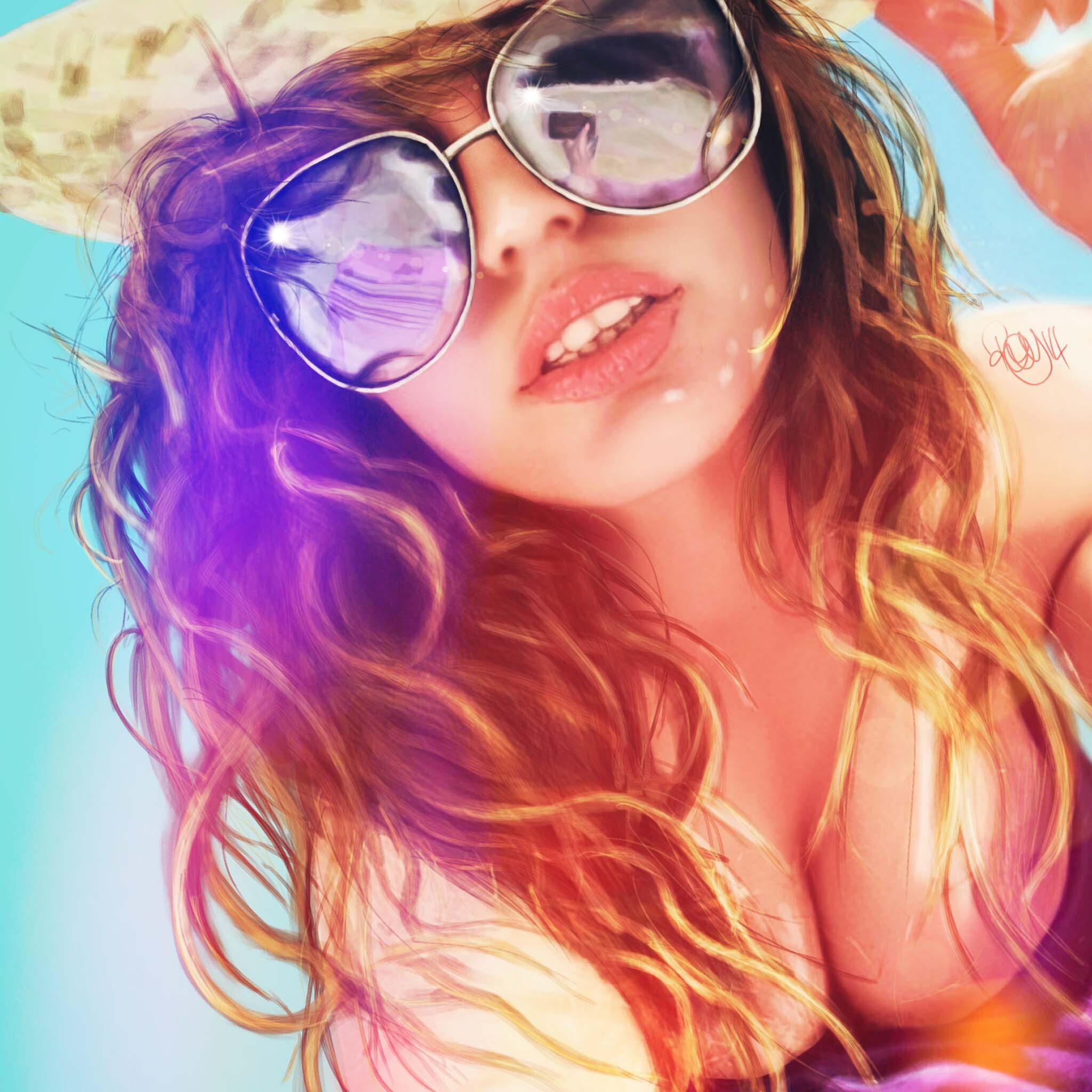 Beach-girl-